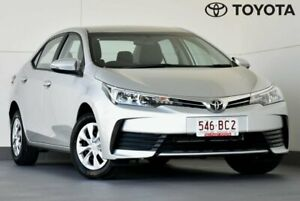 2019 Toyota Corolla ZRE172R Ascent S-CVT Silver 7 Speed Constant Variable Sedan Kedron Brisbane North East Preview