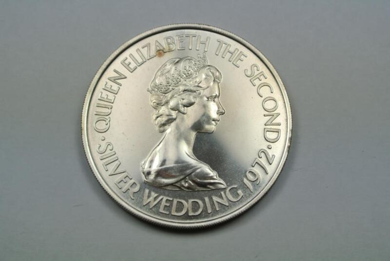 Bailiwick Of Jersey 1972 2 Pounds, KM-37, Silver Wedding, PROOF - C2067