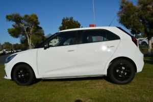 2019 MG MG3 Auto MY18 Update Core Dover White 4 Speed Automatic Hatchback