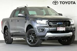 2019 Ford Ranger PX MkIII 2019.75MY Wildtrak Grey 10 Speed Sports Automatic Double Cab Pick Up Kedron Brisbane North East Preview