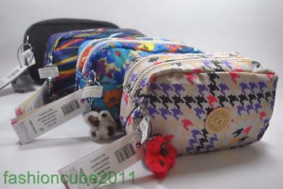 New With Tag KIPLING WALAN M POUCH / COSMETIC CASE