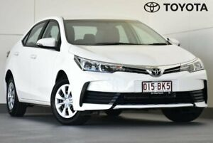 2017 Toyota Corolla ZRE172R Ascent S-CVT White 7 Speed Constant Variable Sedan Kedron Brisbane North East Preview