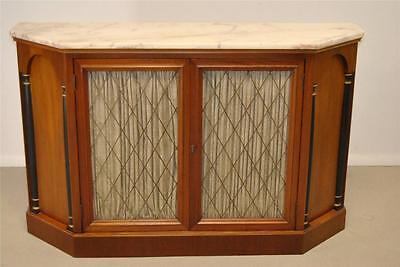 NeoClassic Empire Marble Top Console Cabinet