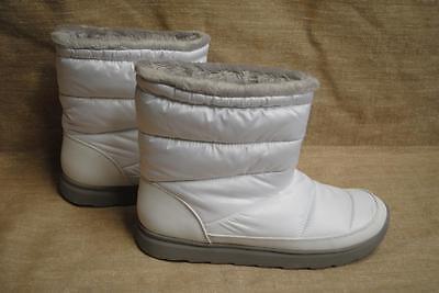 White Tek Gear Boots Winter  69 Retail Snow Fashion Sport Puff Fur Moon Ladies