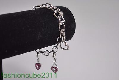 Swarovski Pink Heart Lock (New Authentic Swarovski Pink Heart Lock Bracelet - 5022390 )