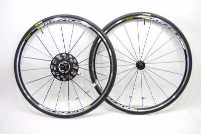 Mavic Aksium Road Bike Wheelset + Mavic Yksion Tires 700C 10/11 Speed - SHIMANO