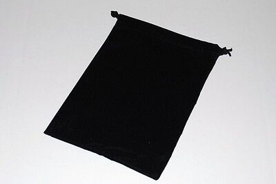 24 Black 5 X 4 Jewelry Pouches Velour Velvet Gift Bags