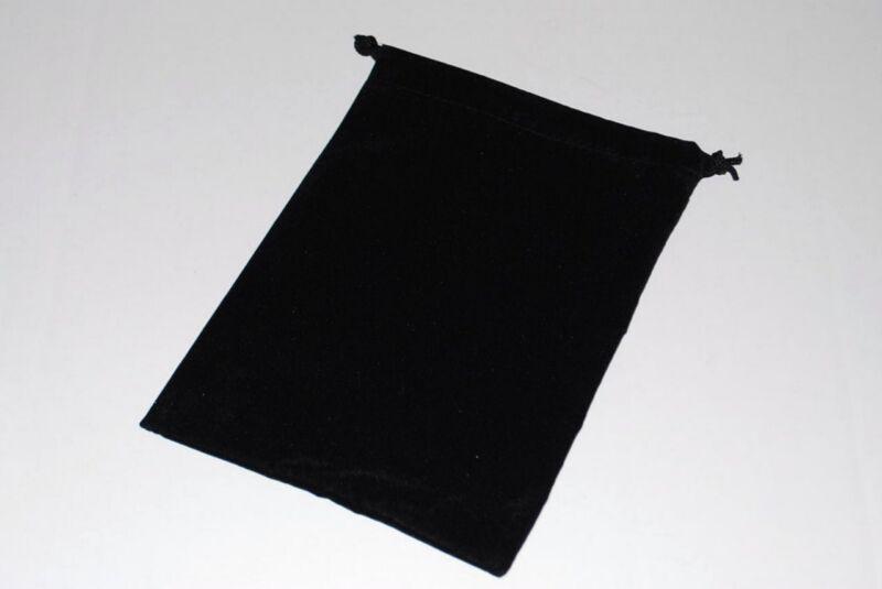 24 Black 5 x 4 Jewelry Pouches Velour Velvet Gift Bags
