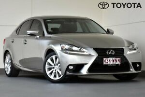 2015 Lexus IS GSE31R IS350 Luxury Silver 8 Speed Sports Automatic Sedan Kedron Brisbane North East Preview