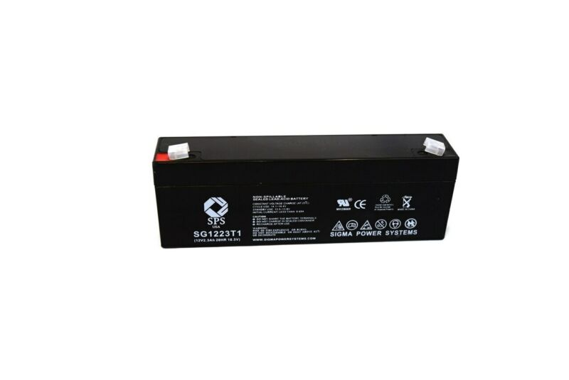 SPS Brand 12V 2.3 Ah Replacement Battery for First Power FP1223 (1 Pack)