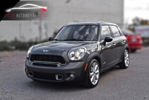 2011 Mini Cooper S Countryman NAVI|AWD|LEATHER SUNROOF|CERTIFIED