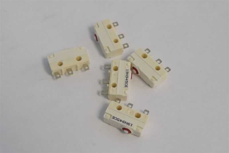 5x ITW Waterproof Micro Limit Switch Microswitch Plunger Mini Button 19N945CE 5A