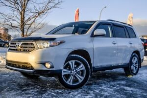 2013 Toyota Highlander 4X4, SPORT 4X4, SPORT, LEATHER, SUNROOF