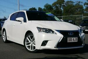 2017 Lexus CT ZWA10R MY16 CT200h Limited Edition White 1 Speed Constant Variable Hatchback Hybrid
