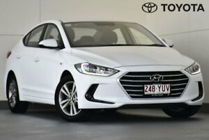 2018 Hyundai Elantra AD MY18 Active White 6 Speed Sports Automatic Sedan Kedron Brisbane North East Preview