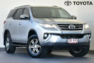 2017 Toyota Fortuner GUN156R GXL Silver 6 Speed Automatic Wagon Kedron Brisbane North East Preview