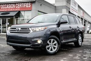 2012 Toyota Highlander 4X4 V6 LEATHER BACK CAMERA 4X4 V6 LEATHER