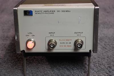 Hp Agilent 8447c Power Amplifier 30-300mhz