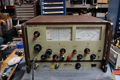 Carnel Labs Nm3757b Emi Field Intensity Meter 20mhz-1ghz Stoddart Eaton
