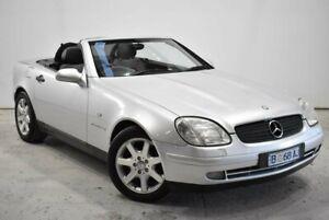 1997 Mercedes-Benz SLK-Class R170 SLK230 Kompressor Silver 5 Speed Automatic Roadster