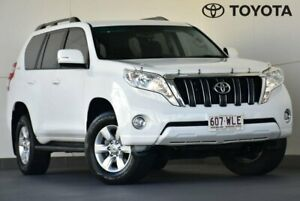 2016 Toyota Landcruiser Prado GDJ150R GXL White 6 Speed Sports Automatic Wagon Indooroopilly Brisbane South West Preview