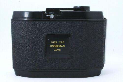 Horseman 16EX 220 Roll Film Holder Back #16220