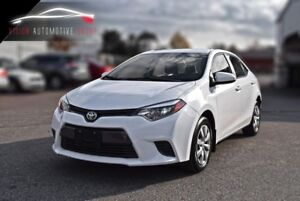 2016 Toyota Corolla LE|BACKUP CAMERA|HEATED SEATS|BLUETOOTH