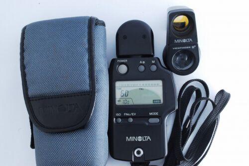 【Exc++】Minolta Auto Meter iv F Lightmeter w/ 5° viewfinder #7331