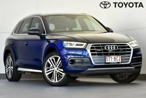 2017 Audi Q5 FY MY17 TDI S Tronic Quattro Ultra Sport Blue 7 Speed Sports Automatic Dual Clutch Indooroopilly Brisbane South West Preview