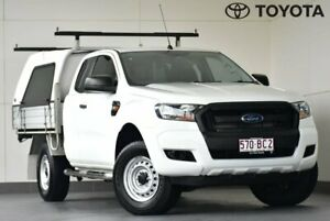 2016 Ford Ranger PX MkII XL Hi-Rider White 6 Speed Sports Automatic Cab Chassis Kedron Brisbane North East Preview
