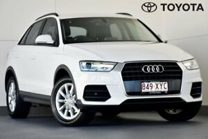 2017 Audi Q3 8U MY18 TFSI S Tronic White 6 Speed Sports Automatic Dual Clutch Wagon Kedron Brisbane North East Preview