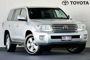 2013 Toyota Landcruiser VDJ200R MY13 VX Silver 6 Speed Sports Automatic Wagon Kedron Brisbane North East Preview