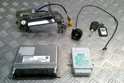 ECU Kit Key Door Lock Ignition EWS 7511570 BMW E36 Z3 2.2i M54 Roadster 00-2002
