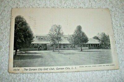 1911 The Garden City Golf Club - Garden City, Long Island Real Photo Postcard