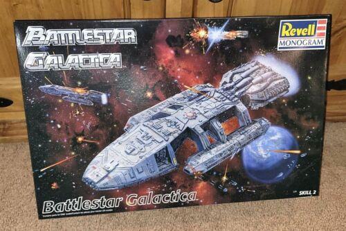 BATTLE-READY Revell Monogram Battlestar Galactica 1997 Model Kit NEW & Boxed!