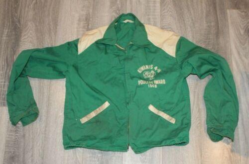 "Vintage Kiwanis 4-H Jacket  1958 ""Poultry Award"""
