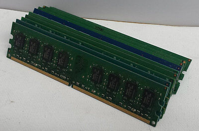 Pc3 8500 1066mhz Desktop Memory (Lot of 10 2GB RAM PC3-8500 DDR3 1066MHz Desktop Memory Major Brands /// Warranty )