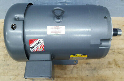 Baldor Electric Industrial Motor 5hp 215tc 3ph 208-230460v 1160rpm Cm3708t Used
