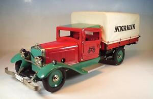 Märklin Lastwagen Metall LKW mit Plane Baukastenauto  - 1992  mit Zertifikat