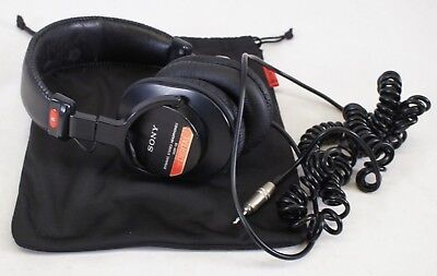 Sony MDR-V6 Over-ear headband Stereo Headphones - Black - Thailand