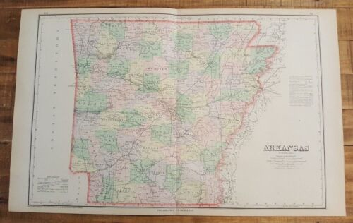 Antique Colored MAP/Gray