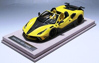 1/18 Ferrari 488 Siracusa 4XX Spider in Yellow limited 40 pcs  N BBR or MR