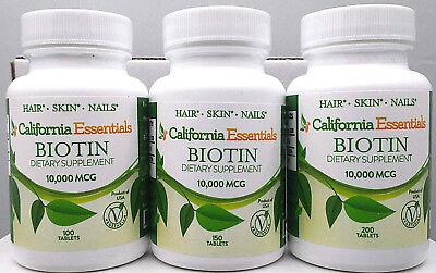Health Biotin - NAIL,HAIR,SKIN HEALTH-10,000mcg BIOTIN + Calcium-NEW-SEALED-FREE SHIP