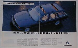 Advert-Pubblicita-1992-BMW-SERIE-5-TOURING-E34