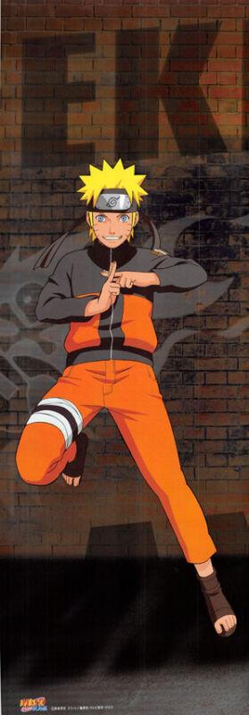 Naruto Uzumaki Weekly Shonen Jump 40th Anniversary Premium Poster Special Metall