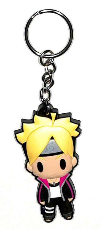 Naruto the Movie Rubber Keychain Key Holder Mascot Naruto Uzumaki (D4 Boruto)