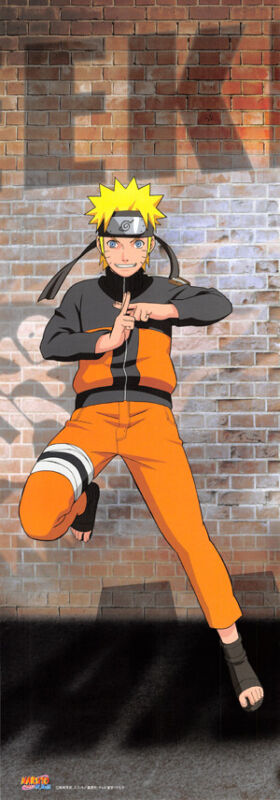Naruto Uzumaki Weekly Shonen Jump 40th Anniversary Premium Poster Normal