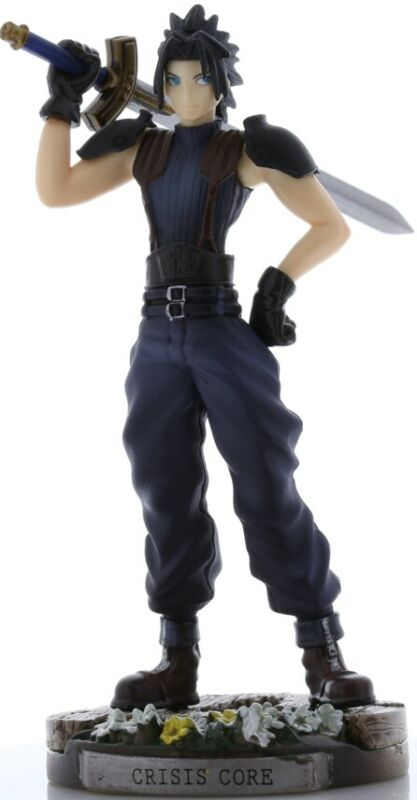 Final Fantasy 7 VII FF7 Crisis Core Figurine Figure Trading Arts Mini Zack Zax