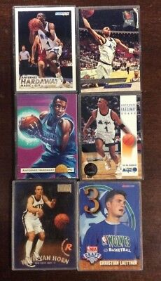 Nba Basketball 6 Cards Hard Plastic Ungraded Hardaway Shoptradingcards Com