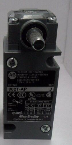 New Allen Bradley 802T-AP  Plug-in Oil tight Limit Switch Series J